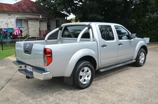 2009 Nissan Navara D40 ST-X (4x4) Silver 5 Speed Automatic Dual Cab Pick-up.