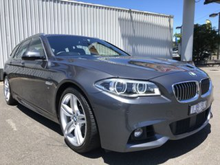 2017 BMW 5 Series F11 LCI 535i Touring Steptronic M Sport Grey 8 Speed Sports Automatic Wagon.