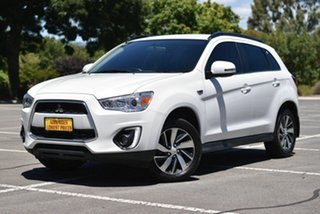2015 Mitsubishi ASX XB MY15 LS 2WD White 6 Speed Constant Variable Wagon.