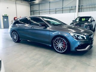 2019 Mercedes-Benz CLA-Class X117 809MY CLA45 AMG Shooting Brake SPEEDSHIFT DCT 4MATIC Grey 7 Speed.
