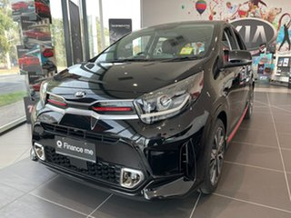 2020 Kia Picanto JA MY21 GT-Line Aurora Black 4 Speed Automatic Hatchback.