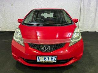 2008 Honda Jazz GD GLi Red 5 Speed Manual Hatchback