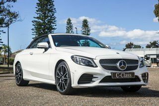 2020 Mercedes-Benz C-Class A205 800+050MY C300 9G-Tronic Polar White 9 Speed Sports Automatic.