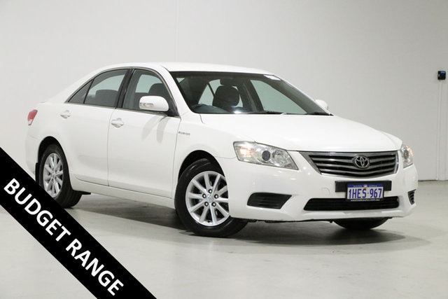 Used Toyota Aurion GSV40R 09 Upgrade AT-X Bentley, 2011 Toyota Aurion GSV40R 09 Upgrade AT-X White 6 Speed Auto Sequential Sedan