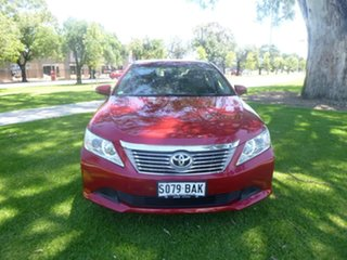 2014 Toyota Aurion GSV50R AT-X Red 6 Speed Sports Automatic Sedan.