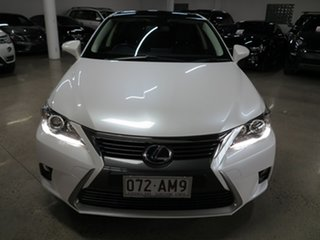 2016 Lexus CT ZWA10R MY16 CT200h Limited Edition White 1 Speed Constant Variable Hatchback Hybrid