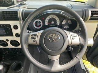 2011 Toyota FJ Cruiser GSJ15R White 5 Speed Automatic Wagon