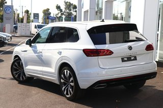 2020 Volkswagen Touareg CR MY21 V8 TDI Tiptronic 4MOTION R-Line White 8 Speed Sports Automatic Wagon.