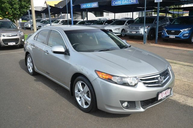 Used Honda Accord 10 Euro Toowoomba, 2009 Honda Accord 10 Euro Grey 5 Speed Automatic Sedan