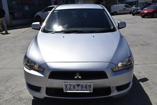2010 Mitsubishi Lancer CJ MY11 ES Billet Silver 6 Speed Constant Variable Sedan.