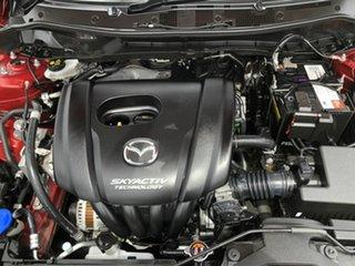2016 Mazda 2 DJ2HAA Genki SKYACTIV-Drive Maroon 6 Speed Sports Automatic Hatchback