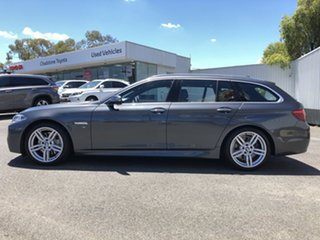 2017 BMW 5 Series F11 LCI 535i Touring Steptronic M Sport Grey 8 Speed Sports Automatic Wagon