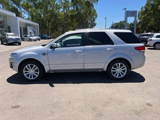 2015 Ford Territory SZ MkII TS Seq Sport Shift AWD Silver 6 Speed Sports Automatic Wagon.