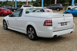 2014 Holden Ute VF MY15 SV6 White 6 Speed Manual Utility
