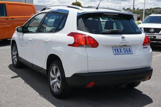 2015 Peugeot 2008 A94 Allure White 5 Speed Manual Wagon