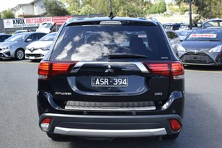 2018 Mitsubishi Outlander ZL MY19 Exceed AWD Black 6 Speed Sports Automatic Wagon
