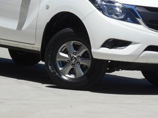 2016 Mazda BT-50 UR0YF1 XT 4x2 Hi-Rider White 6 Speed Sports Automatic Utility.