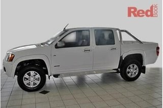 2010 Holden Colorado RC MY11 LX-R (4x4) White 5 Speed Manual Crew Cab Pickup
