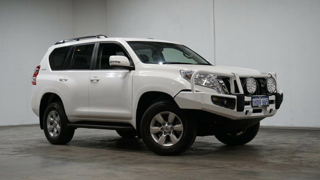 Used Toyota Landcruiser Prado GDJ150R GXL Welshpool, 2016 Toyota Landcruiser Prado GDJ150R GXL White 6 Speed Sports Automatic Wagon
