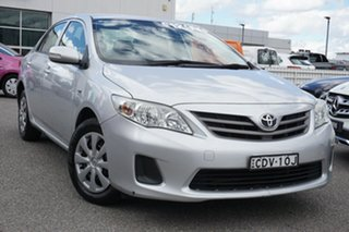 2011 Toyota Corolla ZRE152R MY11 Ascent Silver 4 Speed Automatic Sedan.
