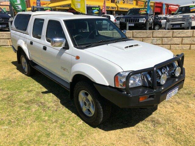 Used Nissan Navara D22 S5 ST-R Wangara, 2011 Nissan Navara D22 S5 ST-R White 5 Speed Manual Utility