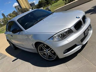2013 BMW 1 Series E82 LCI MY1112 125i Steptronic Silver 6 Speed Sports Automatic Coupe.
