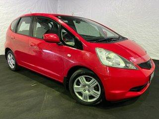 2008 Honda Jazz GD GLi Red 5 Speed Manual Hatchback.