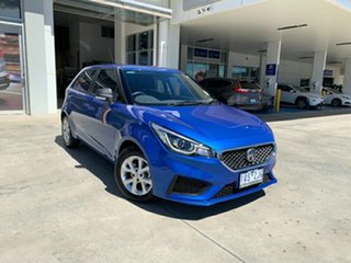 2019 MG MG3 SZP1 MY18 Core Blue 4 Speed Automatic Hatchback.