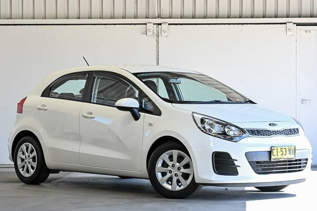 Used Kia Rio UB MY16 S Laverton North, 2016 Kia Rio UB MY16 S White 4 Speed Sports Automatic Hatchback