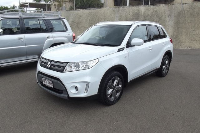Used Suzuki Vitara LY RT-S 2WD South Gladstone, 2017 Suzuki Vitara LY RT-S 2WD White 6 Speed Sports Automatic Wagon