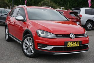 2015 Volkswagen Golf VII MY16 Alltrack DSG 4MOTION 132TSI Red 6 Speed Sports Automatic Dual Clutch.