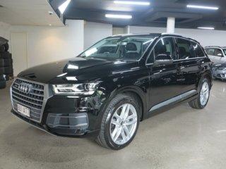 2016 Audi Q7 4M MY17 TDI Tiptronic Quattro Black 8 Speed Sports Automatic Wagon.