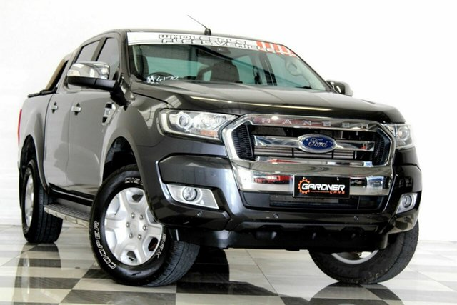 Used Ford Ranger PX MkII MY17 XLT 3.2 (4x4) Burleigh Heads, 2016 Ford Ranger PX MkII MY17 XLT 3.2 (4x4) Grey 6 Speed Automatic Double Cab Pick Up