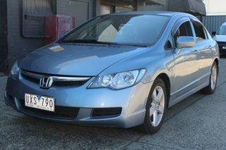 2007 Honda Civic MY07 VTi-L 5 Speed Automatic Sedan.