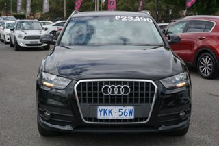 2014 Audi Q3 8U MY14 TFSI S Tronic Black 6 Speed Sports Automatic Dual Clutch Wagon.