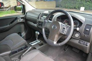 2009 Nissan Navara D40 ST-X (4x4) Silver 5 Speed Automatic Dual Cab Pick-up