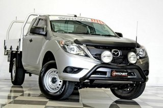 2015 Mazda BT-50 MY16 XT Hi-Rider (4x2) Grey 6 Speed Automatic Freestyle Cab Chassis.