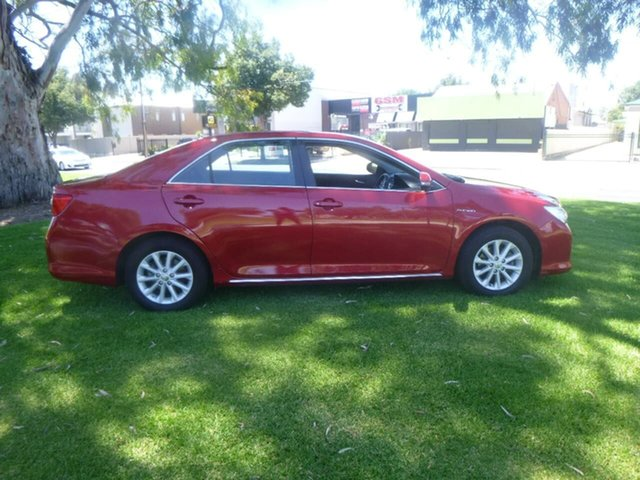 Used Toyota Aurion GSV50R AT-X Beverley, 2014 Toyota Aurion GSV50R AT-X Red 6 Speed Sports Automatic Sedan