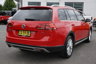 2015 Volkswagen Golf VII MY16 Alltrack DSG 4MOTION 132TSI Red 6 Speed Sports Automatic Dual Clutch
