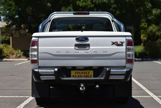 2010 Ford Ranger PK XLT Crew Cab White 5 Speed Manual Double Cab Pick Up