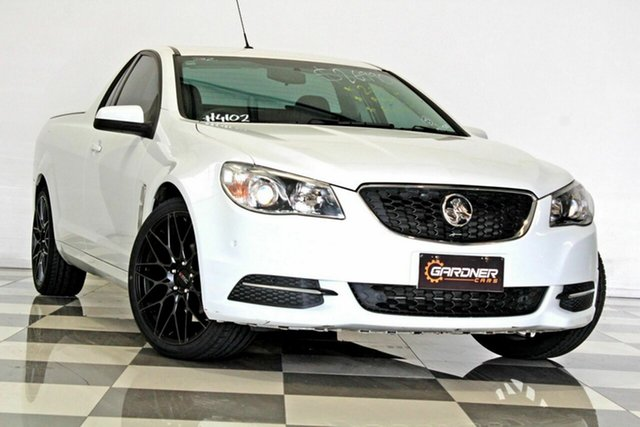 Used Holden Ute VF II MY17 Burleigh Heads, 2017 Holden Ute VF II MY17 White 6 Speed Automatic Utility