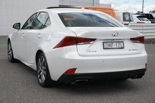 2017 Lexus IS ASE30R IS200t Luxury White 8 Speed Sports Automatic Sedan