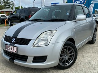 2008 Suzuki Swift RS415 Silver 5 Speed Manual Hatchback.
