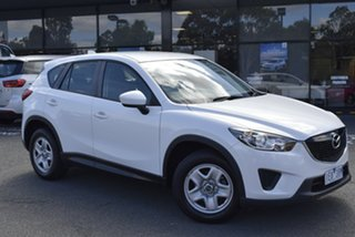 2012 Mazda CX-5 KE1071 Maxx SKYACTIV-Drive White 6 Speed Sports Automatic Wagon.