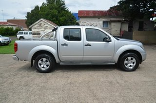 2009 Nissan Navara D40 ST-X (4x4) Silver 5 Speed Automatic Dual Cab Pick-up