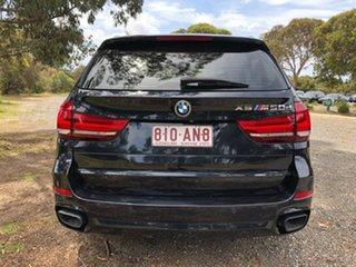 2014 BMW X5 F15 M50D Black 8 Speed Sports Automatic Wagon