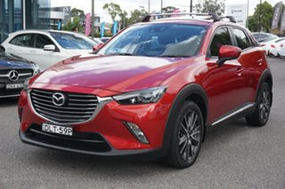 2016 Mazda CX-3 DK4W7A Akari SKYACTIV-Drive i-ACTIV AWD Red 6 Speed Sports Automatic Wagon
