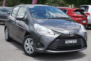 2017 Toyota Yaris NCP130R Ascent Grey 4 Speed Automatic Hatchback.
