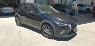 2017 Mazda CX-3 DK2W7A sTouring SKYACTIV-Drive Black 6 Speed Sports Automatic Wagon.