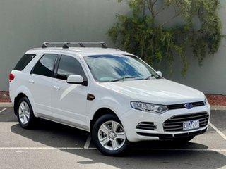 2013 Ford Territory SZ TX Seq Sport Shift White 6 Speed Sports Automatic Wagon.